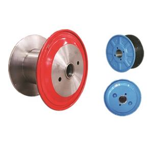 Double Layer High Speed Cable Drum/Flange, Enhanced Metal/Galvanized Reel/Spool/Bobbin for Wire Rope Cable