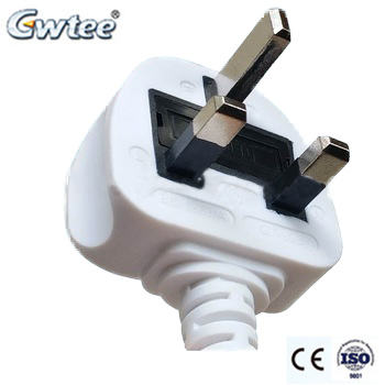 BS 3-Pin Plug CE Approved Fused Extension Cord PLUG