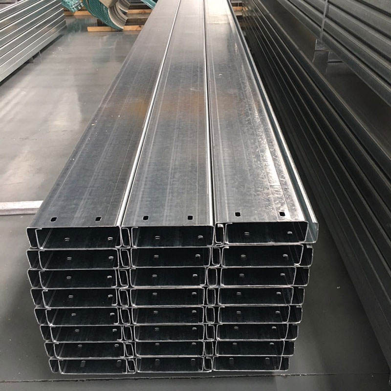 Galvanized stainless steel C channel / C profile / C purlin