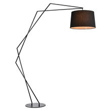 60267F-A Top designed modern metal fishing floor lamp light.