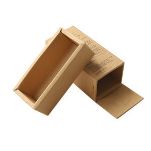 Hot sale   high quality customized recycle carton box packaging box kraft paper drawer box