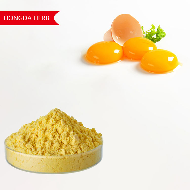HONGDA Pure Egg Yolk Powder Price Egg Yolk For Skin Whitening