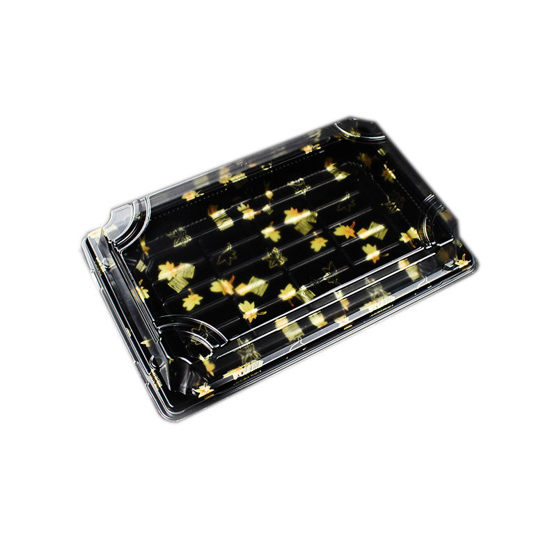 Disposable sushi Box High Quality Plastic sushi Box