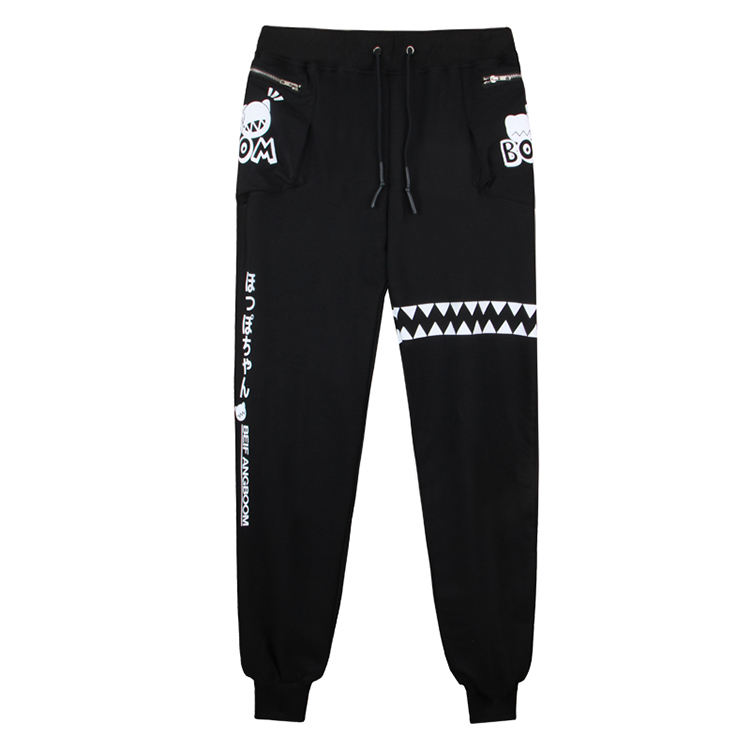 Anime game Kantai Collection men sweat pants surrounding clothing spot autumn and winter Cotton men pants wholesale trousers