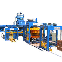 Automatic cement bricks making machine cost qt 10 15  concrete hollow block machines for large scale