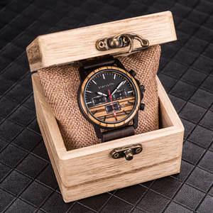 New Natural Engraved Bamboo Custom Wooden Watch OEM Waterproof Men Wood Watches