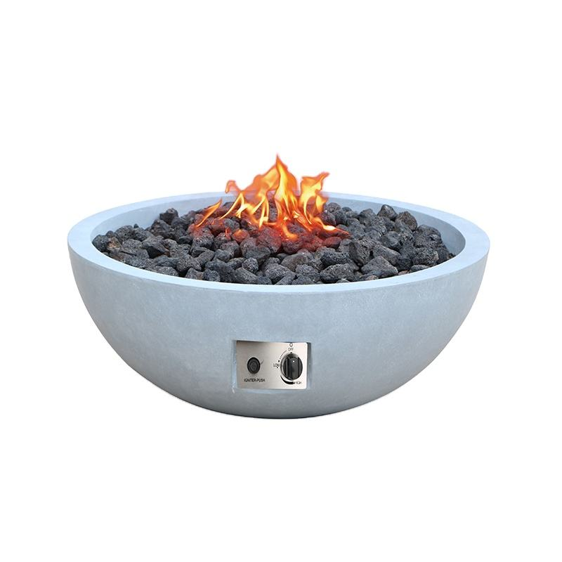 Hot Sale Outdoor Magnesium Oxide Gas Fire Pits