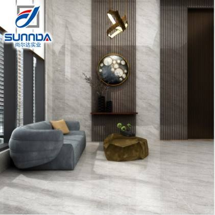 Sunnda Foshan Gold Wire Glaze Polished Porcelain Tiles Elegant Luxury Fashion Floor Tiles Wall Tiles