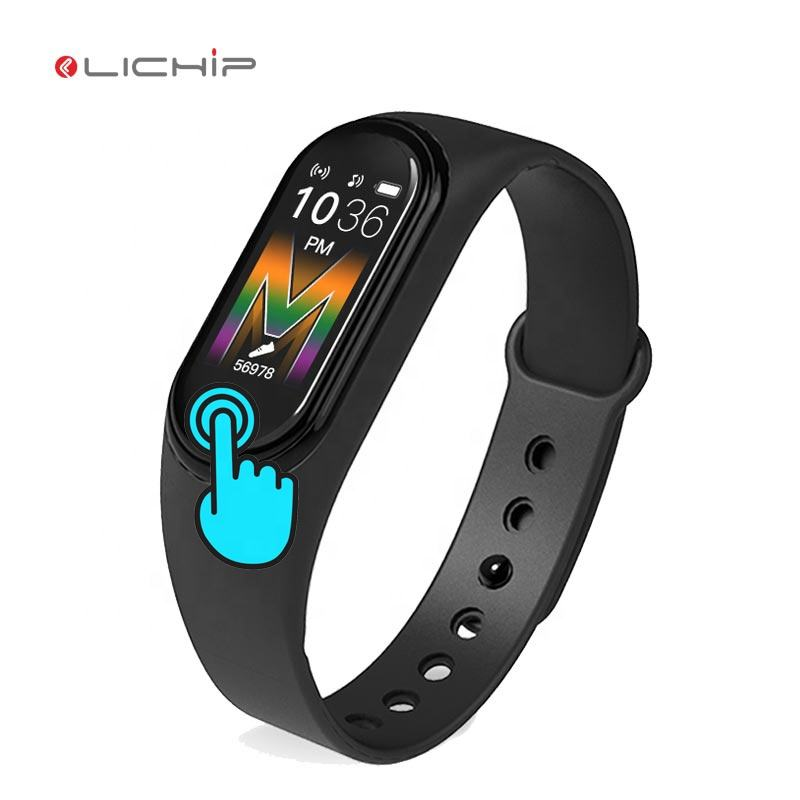 LICHIP L217 smart bracelet phone call play music watch M5 plus smartwatch wristband fitness tracker band reloj m4 m3 m2