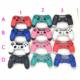For PS4 Case Front+back Upper Under Cover Housing Controller Shell for DualShock 4 Controller Gamepad