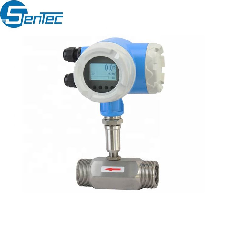 Low Price RS485 Lpg Argon CO2 Natural Gas Mechanical Turbine Flow Meter