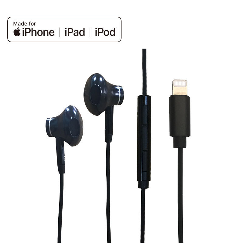 Wholesales Best Popular Mobile Accessories MFI Earphone for iPhone 12 mfi eraburds sound