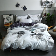 Luxury woven 100% Cotton Soft and comfortable bed sheet bedding set