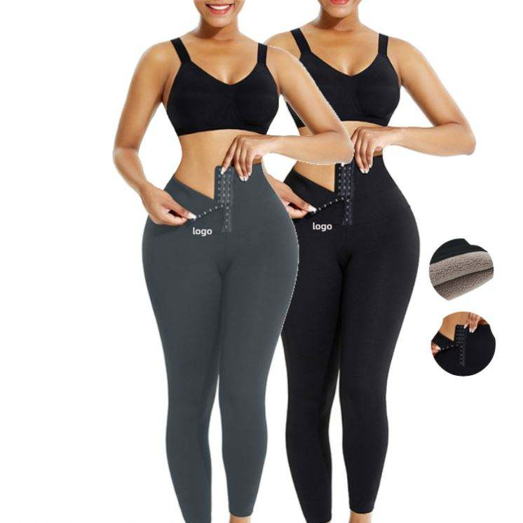 2021 Latest Design Slimming Solid Breathable Butt Lifter Tummy Pants Shaper Waist Trainer Leggings
