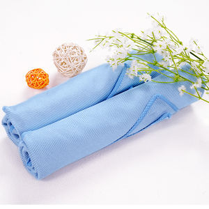 Microfiber cloth for cleaning glass cloth microfiber cleaning towel in roll of work