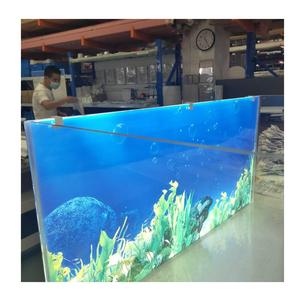Aquarium Verlichte Aquarium Led Licht Blauw Wit Backlight