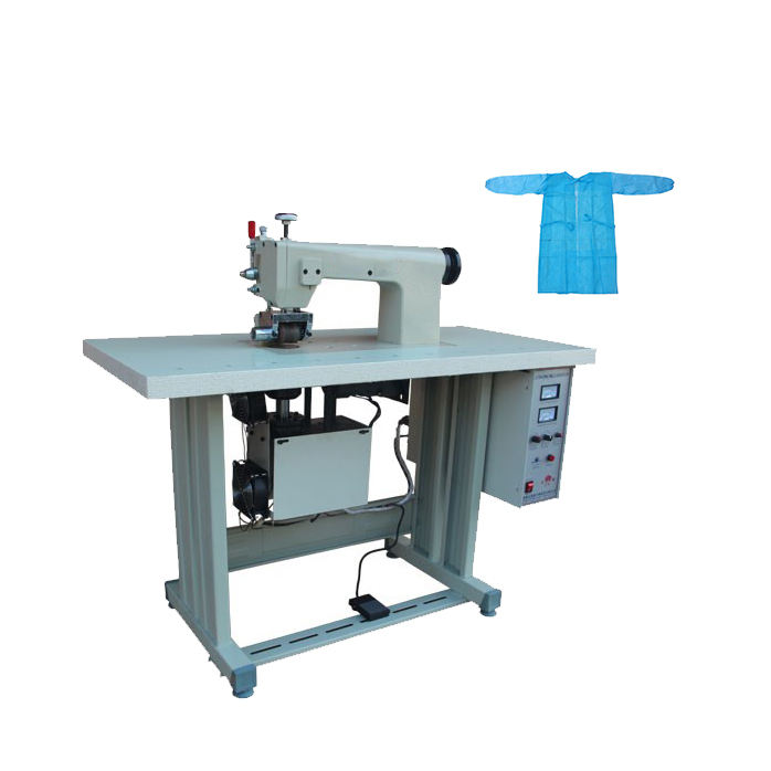 Ultrasonic Non woven fabric making machine