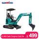CASH COUPON SALE! Chinese Sunward All Special Models 1 Ton Mini Crawler Excavators