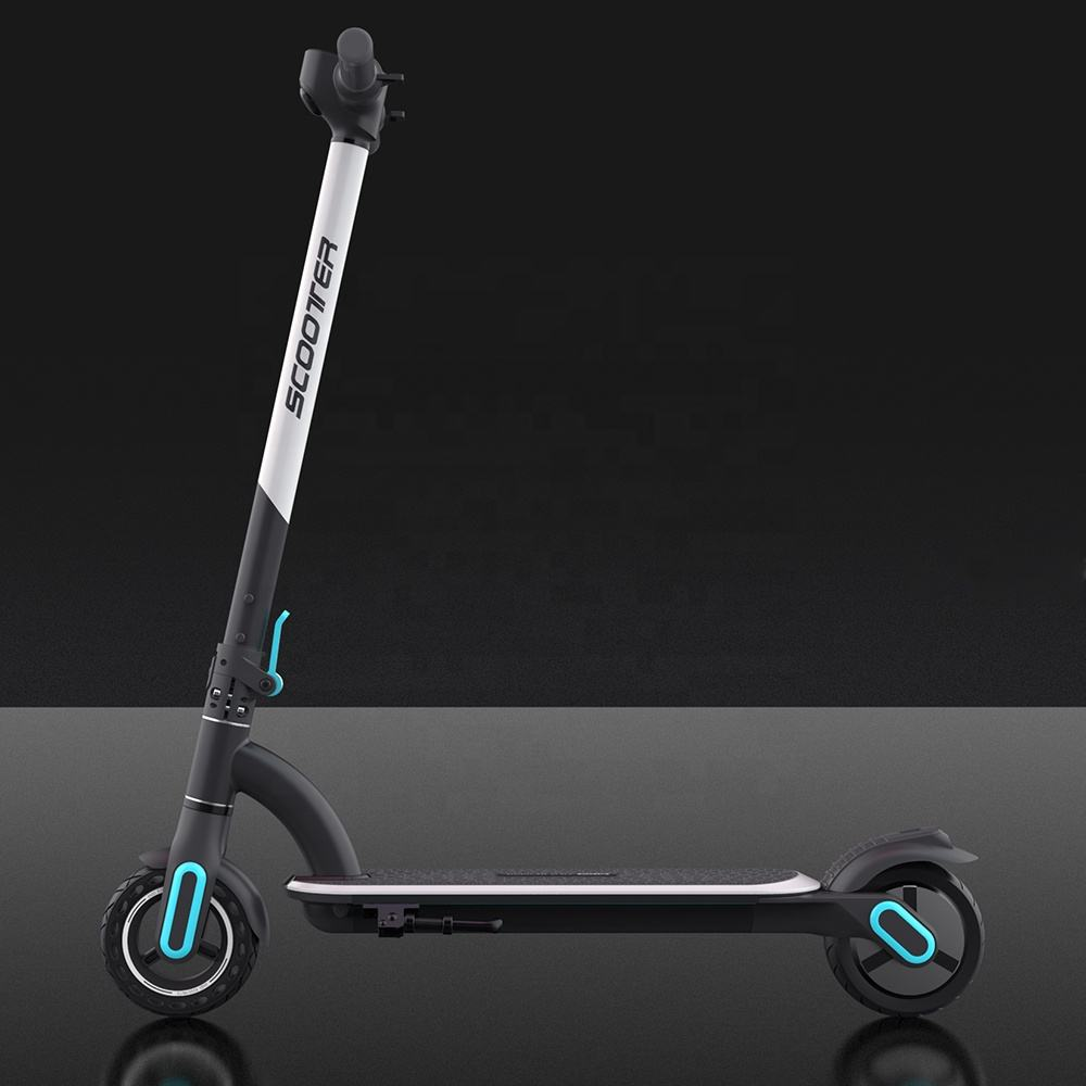 2020 OEM Cheap Manufacturer Wholesale Two Wheels Electric Scooters kids Foldable 6.5 Inch 250W Electronic Scoters Ride on Car