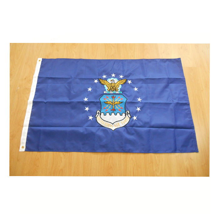 3x5 Ft 90x150cm united states of american Military US Air Force Flag Eagle Badge Blue Flag