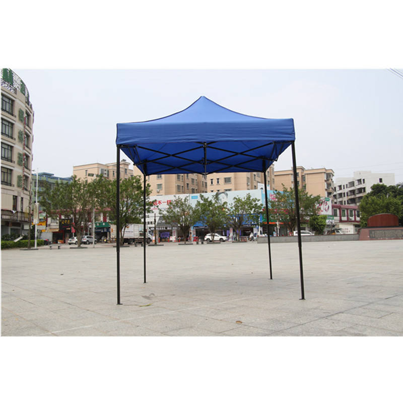 Factory wholesale manufacturing 2*2 black gold steel very easy to assemble and disassemble tents