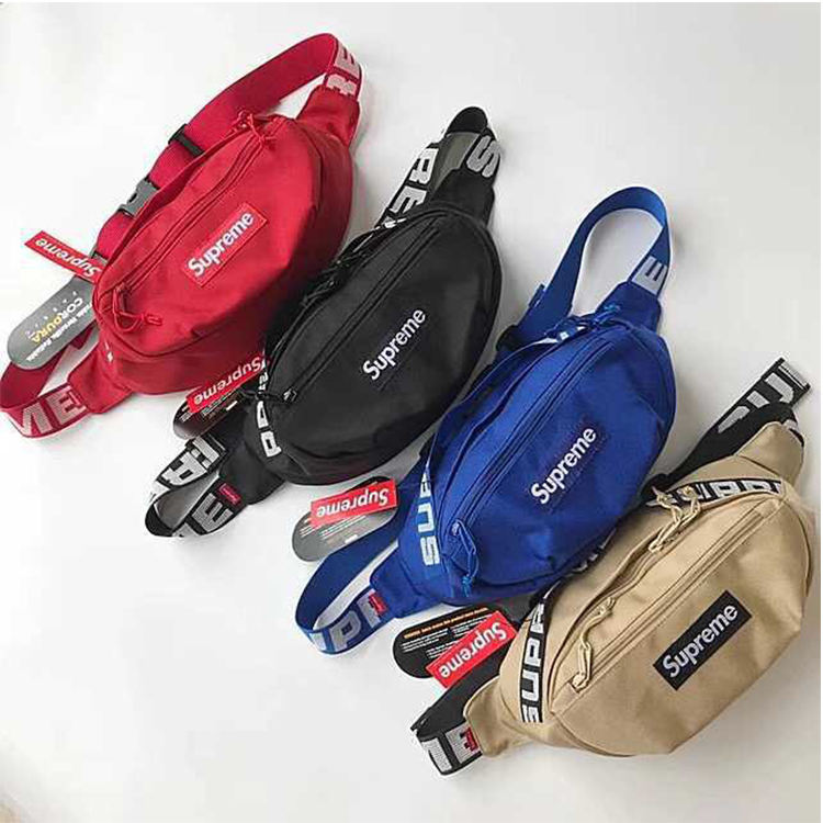 Fashion Famous waist bag New York Street Tide design brand Letter Outdoor riding canvas Waterproof bum bag shoulder bag hip hop