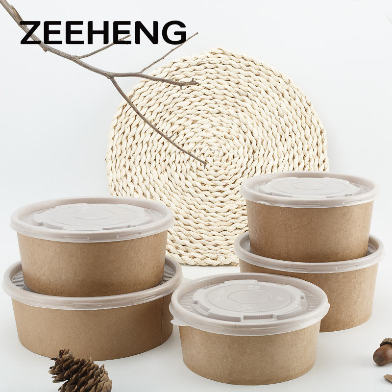China supplier factory price hot sell double PE coating big food grade salad bowl
