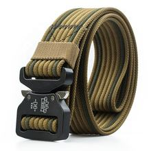 1.5 Inch Zinc Alloy Buckle High Quality Male Army Nylon Multi-functional Tactical Military Belt T17