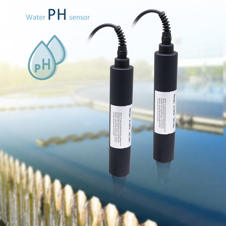 Wastewater PH sensor intelligent water quality monitoring digital ph meter