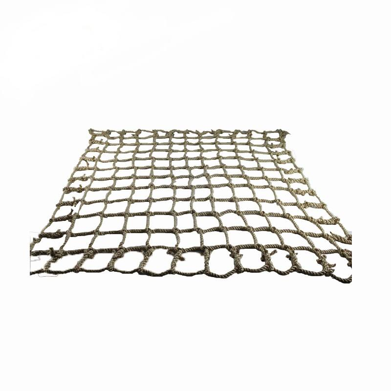 Cheap price heavy duty polyester climbing net for promotion playground