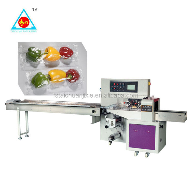 Full automatic Vegetable Packaging Machinery/fruit and vegetable packing machine TCZB-350X