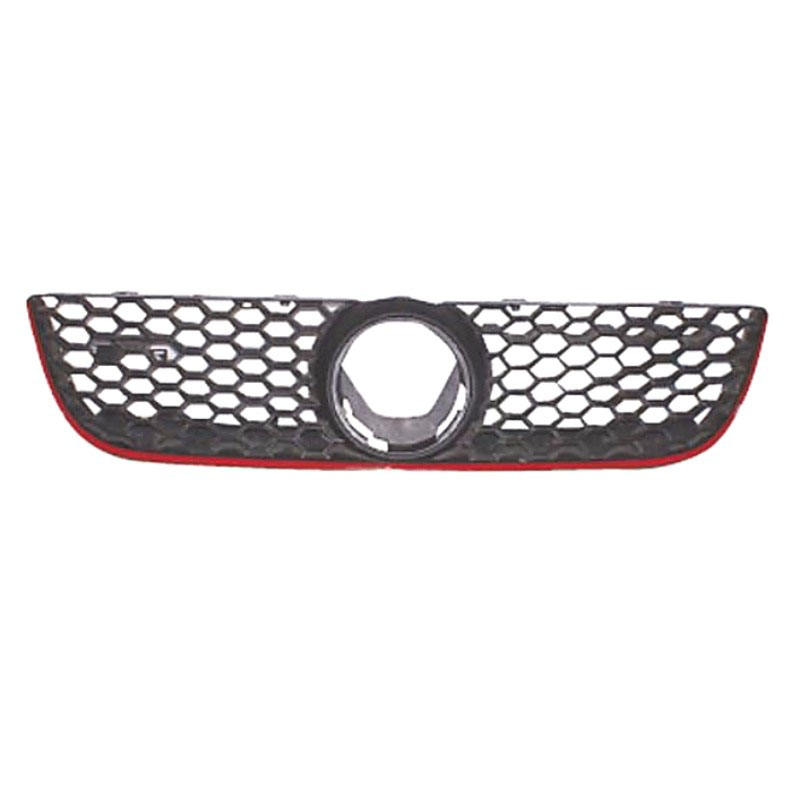 Good Production ABS Auto Car Red Line auto swift Front Grille for VW Polo GTI 2005 - 2009