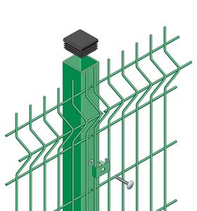 Safe Fence Tech 6x8 ft PVC Vinyl Privacy Security welded wire Fence Panels