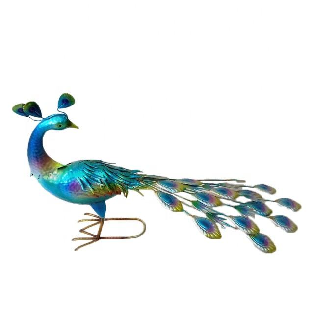 decoration garden metal peacock for garden and home decoration metal iron peacock