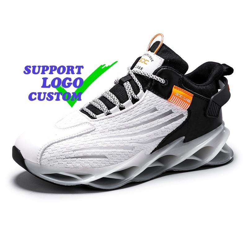 New Flying Shuttle Knitted Low-Cost Leisure Light Sports Shoes For Men