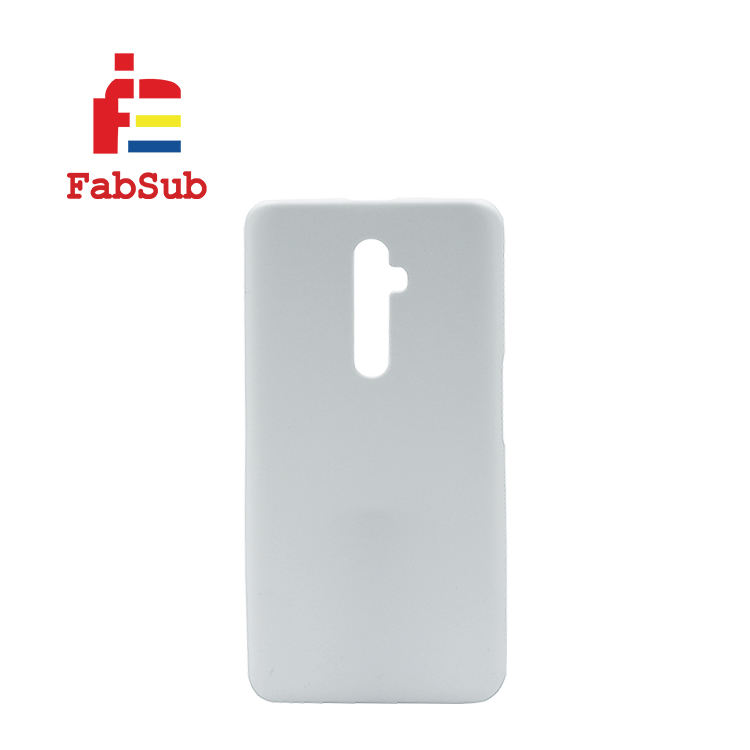 Fabsub popular heat transfer DIY print case 3d sublimation blank mobile phone cover for Oppo Reno 2 Z