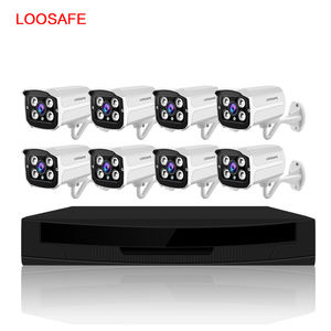 2019 Best Sales 8 Channel IP Camera With Poe Kit Video Surveillance Kit 5MP POE Camera with NVR