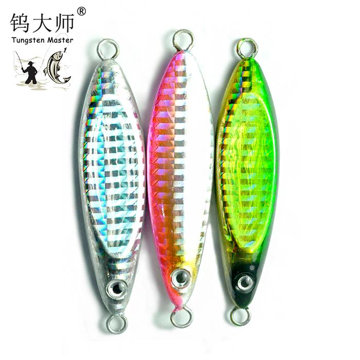 Eye 3g 7g 11g Fishing Metal VIB Lures Lead Casting Spoon Lure Jig Metal Slice