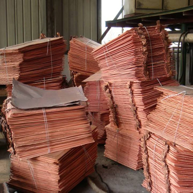 High quality electrolytic 99.99 Copper Cathode