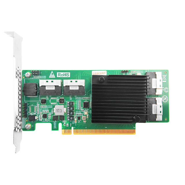 Huiami — puce ANSL4PE16 PMC8533, 4 ports slims * 4 4gpbs/driver p3.0 ciex16, prise en charge du disque dur NVME <span class=keywords><strong>SSD</strong></span>
