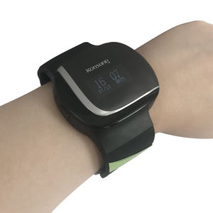 SONOSAT-W01LT watch type IPX1 smart blood pressure wifi SpO2 wrist pulse oximeter with App support