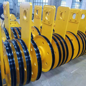 Manufacturer'S Price 20 Ton Wire Rope Steel Hoist Pulley