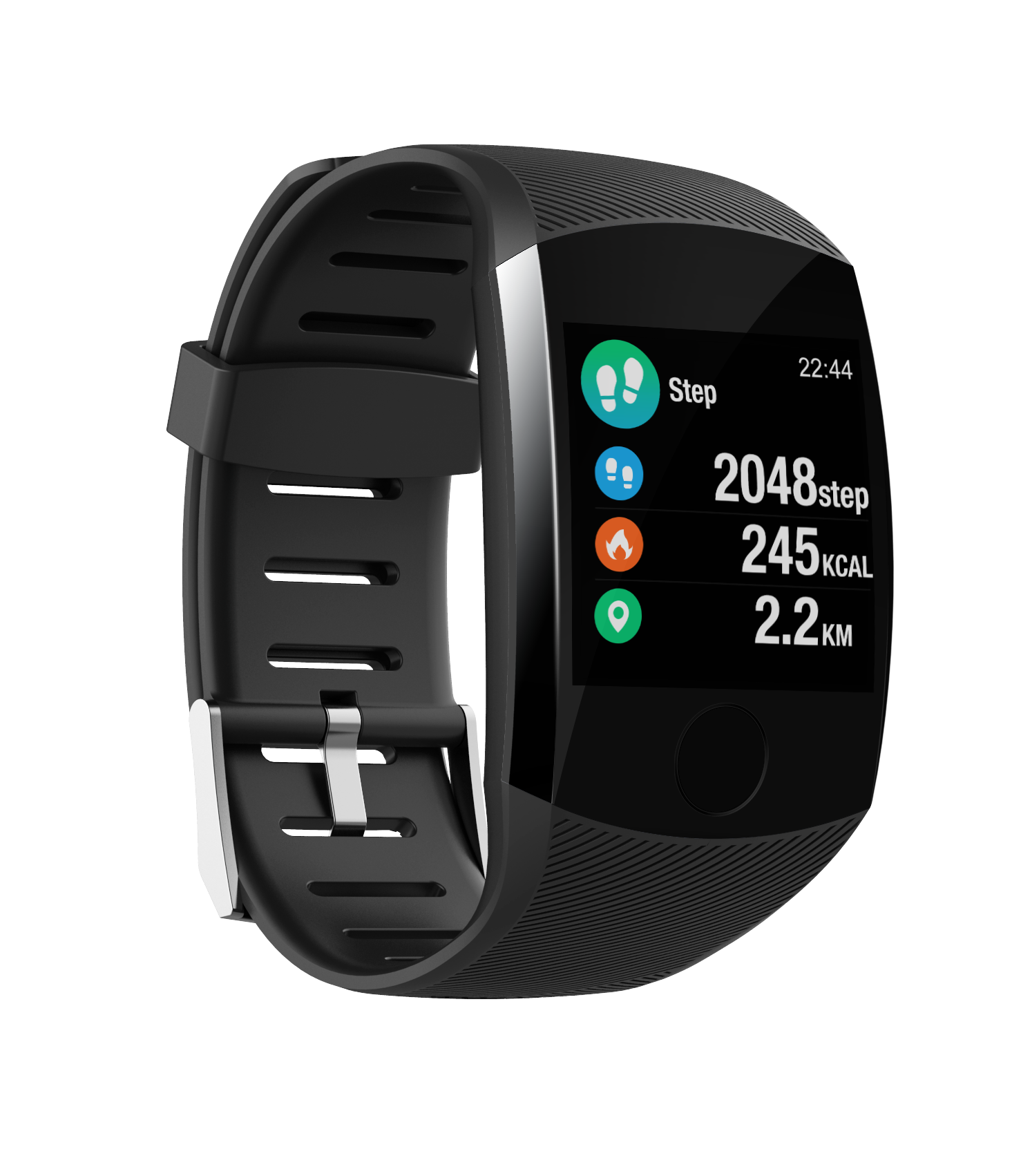 1.3 inch TFT mobile phone Internet touch screen positioning sport bracelet heart rate wristband watch Q11 smart watch