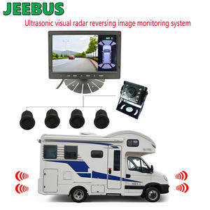 Vehicle Car Camera Van Truck Parking Sensor Car Aid Parking Front Rear Ultrasonic Reverse Radar Monitoring System