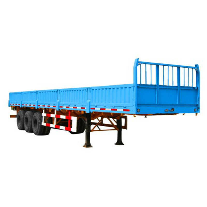 low bed trailers 35000L 11.4m CIMC 2 axles lowbed 5 u shape trailer