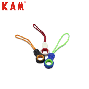 Plastic Zipper Puller Plastic Wholesale Black Pvc Plastic String Zipper Puller For Garment