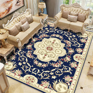 European Court Printed Carpet Mats Big Size High Quality Home Mat Living Room Red Carpet Thicken Parlor Rugs Luxury Decor