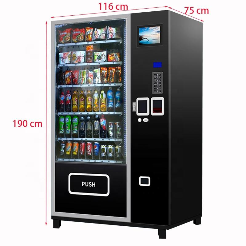 Bar Cashless Maquinas Vending Cell Phone Control Beverage Snack Drink Cigarette Orange Juice Maquinas Vending