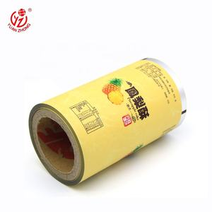Hotsale Opaque Wrapping Plastic Sealing Film Roll Snack Food Packaging