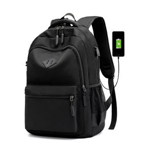 Waterproof Business Travel Computer bag bagpack back pack Smart Laptop backpack with USB charging port